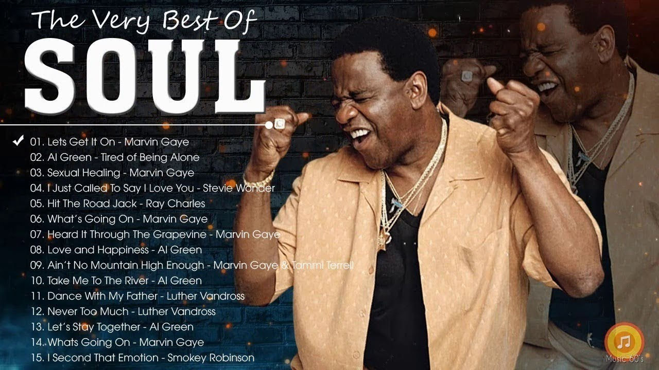 Download 70's Soul - Al Green, Marvin Gaye, Smokey Robinson, Stevie Wonder, Tower Of Power and more