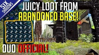JUICY LOOT FROM ABANDONED BASE! | Duo Official PvP - Ep. 5 - Ark: Survival Evolved