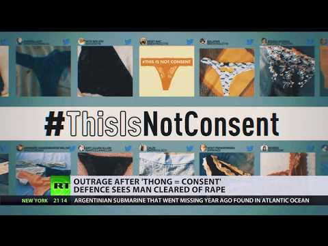 A lace thong is not consent: Protests erupt in Ireland after man cleared of rape