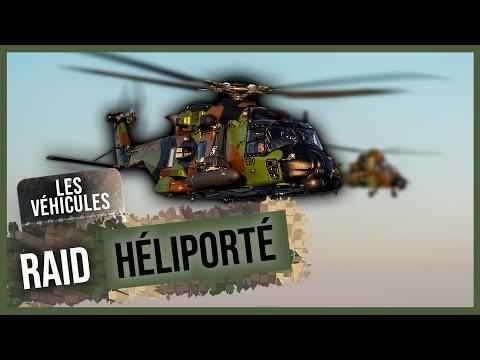 Raid héliporté avec les Caïman