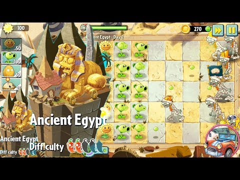 Zombie Vs Plants game/Ancient Egypt Part 1 HD/ Nursery Rhymes for Kids/Nursery Rhymes/PvZ2/