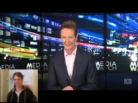 Lewis Spears on Media Watch and Triple J!... Again