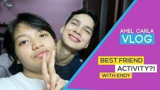 Amel Carla - BESTFRIEND ACTIVITY?! (With Endy Arfian)