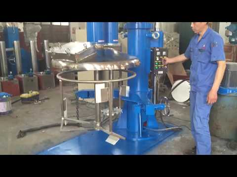 SJ-1000 Double shaft Mixer/ Algeria customer/ Tonghui Chemical Machinery