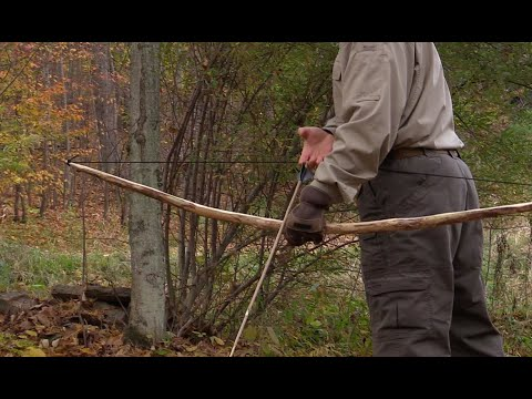 How to make a quick and easy bow arrow
