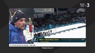 JO 2018 : Biathlon - Mass start Hommes / Simon Desthieux :