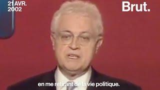 Comment avait réagi Lionel Jospin en 2002 ? thumbnail