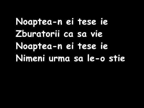 Phoenix - Fata verde ( lyrics )