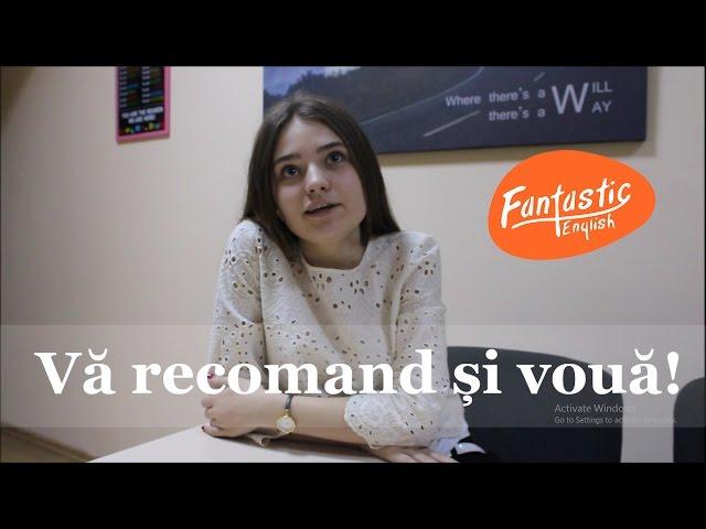 Recenzie Fantastic English School I Corina Filimon