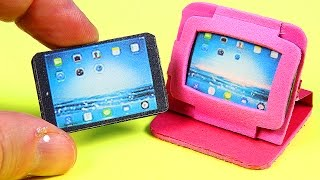 DIY Miniature Tablet / iPad + 2 Tablet Cases thumbnail
