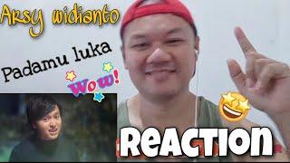 Reaction   Arsy widianto - Padamu luka (official music video) 🇮🇩