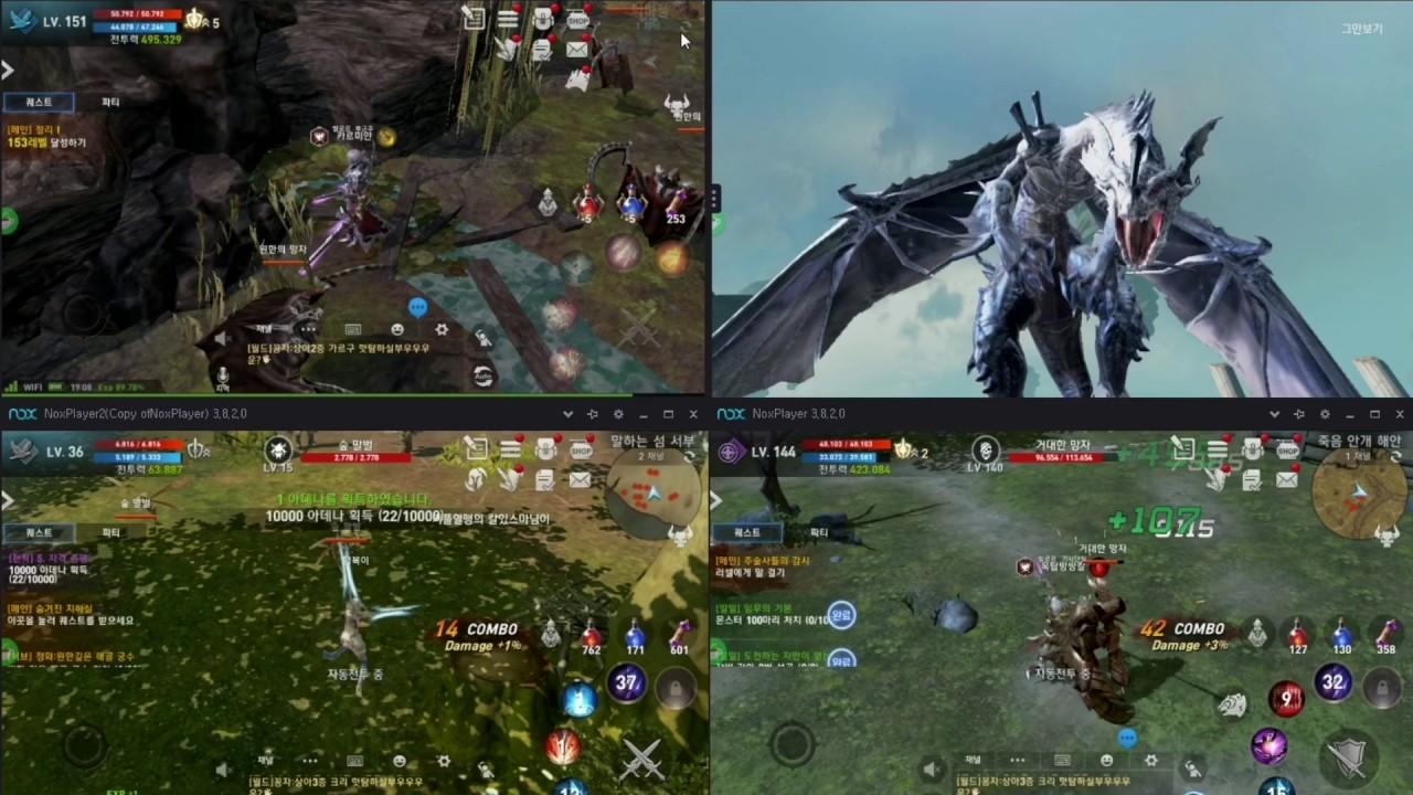 天堂2:革命PC版--夜神模擬器多開超贊! - YouTube