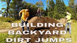 The Coulas't Backyard Dirt Jump & Pump-track Speed Build