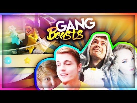 *VERY INTENSE* - Gang Beasts ft. Míša, Bauchyč a Citron