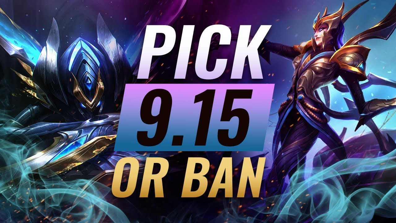OP Pick or Bans for Every Role: Patch 9 15 Best Builds
