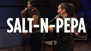"Salt-N-Pepa ""Whatta Man"" // SiriusXM // Backspin"