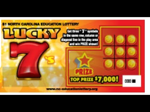 The Statistics of Stratch-Off Lottery Tickets