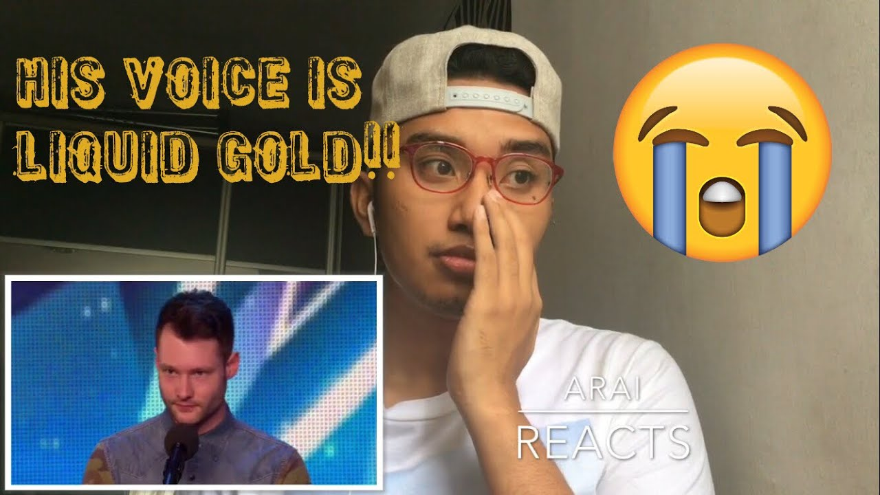Calum Scott Dancing On My Own By Robyn Britains Got Talent 2015 Audition Reaction Youtube