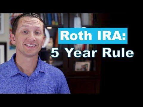 "<span class=""title"">Roth IRA 5 Year Rule</span>"
