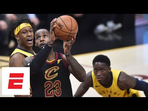 LeBron James goes off for 20 points in first quarter of Game 2 vs. Pacers | ESPN