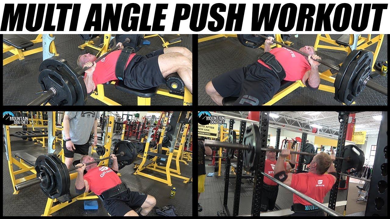 Multi Angle Push Workout | With Progressive Overload