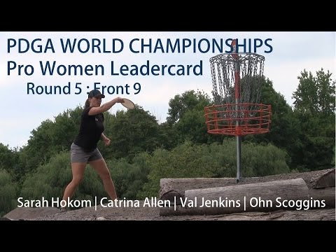 The Disc Golf Guy - Vlog #315 - Worlds Rnd 5 - S Hokom, C Allen, V Jenkins, O Scoggins