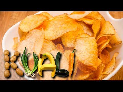 Fermented potato chips