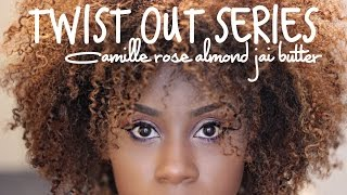 Twist Out Series | Camille Rose Almond Jai Butter