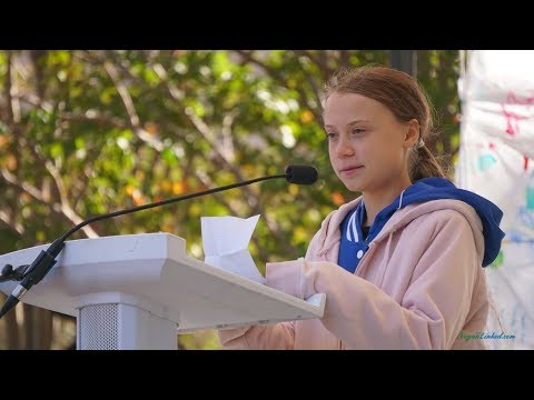 Greta Thunberg Charlotte North Carolina 11 8 2019