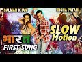 Slow Motion | Bharat Movie First Song Review | Salman Khan & Disha Patani Slow Motion Dance