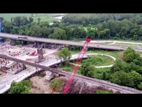 Memphis, AR Railroad Job Drone
