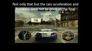 Need For Speed Most Wanted Beta Version