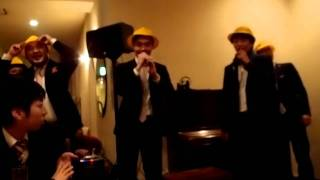 2012/02/11 友人の結婚式の余興でラップしました。二人ともおめでとうご...