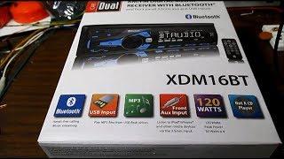 $20 car stereo test & review - Dual XDM16BT