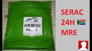 South African Ration Review:  SERAC 24H MRE Menu 3