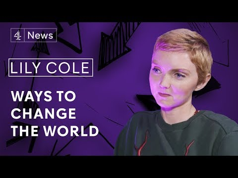 Lily Cole on ethical fashion, technology and bullying