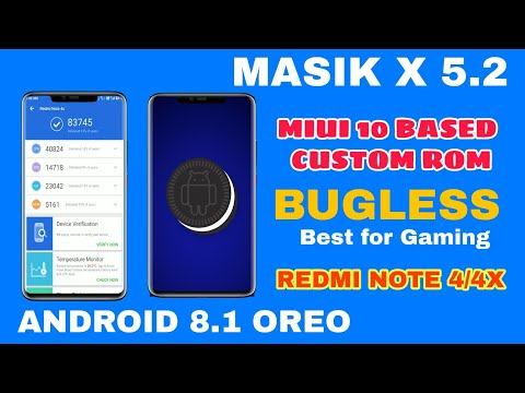 ROM] [OREO] Masik X 5 2 MIUI 10 based Rom for Redmi note 4