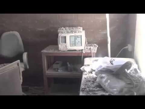 Damascus suburbs –Marj Al Sultan: medical center destroyed in regime shelling 17 Oct 2015