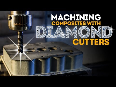 CNC Machining Composites With Diamond Cutters | Vlog #81