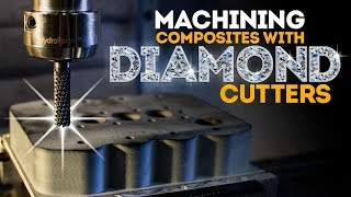 CNC Machining Composites With Diamond Cutters   Vlog #81