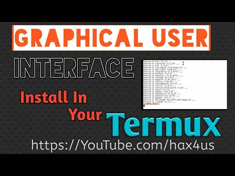 Install Graphical User Interface In Your Termux App
