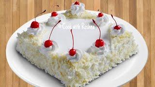 ഓവൻ ഇല്ലാതെ അടിപൊളി white forest cake  ഉണ്ടാക്കാം / how to make white forest cake without oven