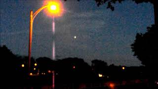 Ufo sighting during lion search Milwaukee WI