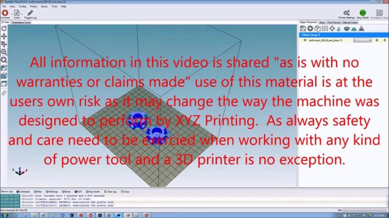 XYZ Printing Da Vinci 2 0 Info and Hacks – DIY 3D Tech