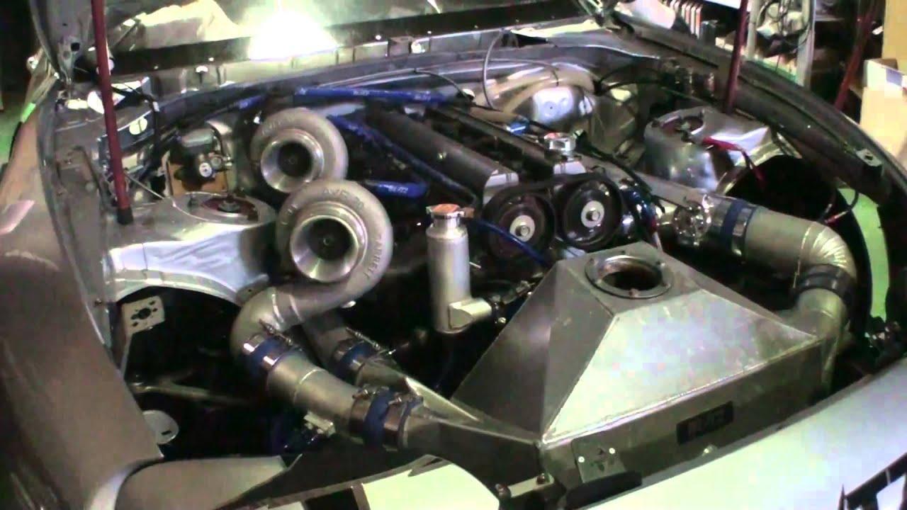 Toyota Ft 1 Engine >> Toyota Supra 2JZ 1530hp dyno, Big twins!   Doovi