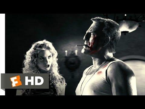 Sin City 212 Movie CLIP  Hit Him Again, Wendy 2005 HD