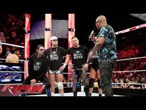 "Flo Rida battle raps ""Bo Rida"": Raw, January 25, 2016"