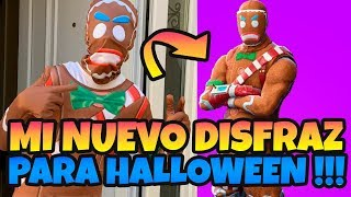 PLAYING FORTNITE IN LEGENDARY SKIN COSTUME LIVE GINGERBREAD