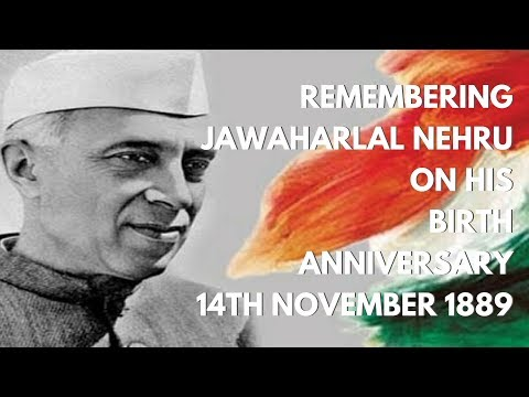 Remembering Jawaharlal Nehru on November 14, his Birth Anniversary
