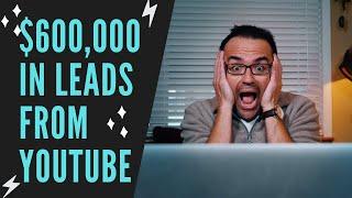 YouTube Video Lead Generation - $600,000 in leads from YouTube videos! W/ Utah SEO Ninja